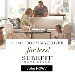 SureFit Home Decor Coupon
