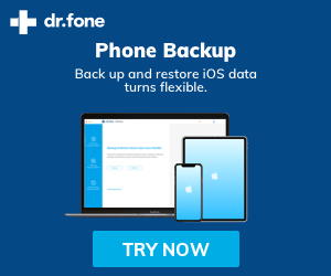 dr.fone-Phone Backup - iOS