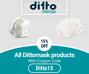 Dittomask 15% OFF