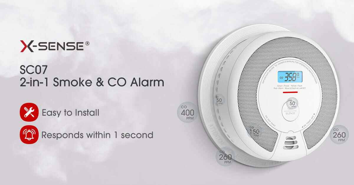 X-Sense Smoke Alarms SC07