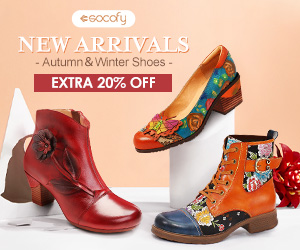 SOCOFY - Extra 20% OFF for New Arrivals