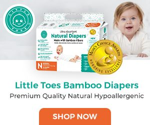Little Toes Bamboo Diapers