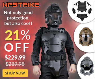 21% off - Tactical Armor Set