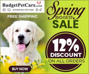 Spring Biggest Sale BudgetPetCare 2