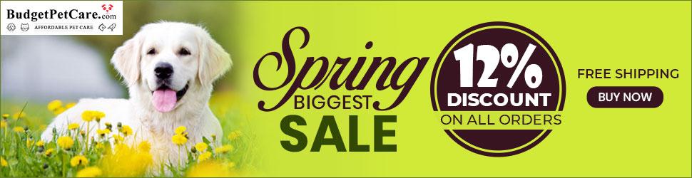 Spring Biggest Sale BudgetPetCare 5