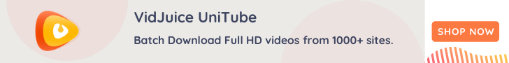 VidJuce UniTube banner