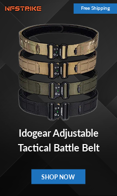 Idogear Adjustable Tactical Battle Belt - Nfstrike