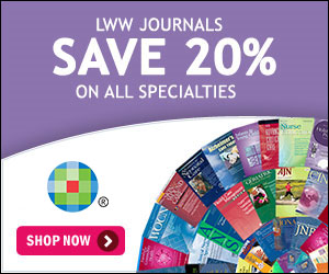 Get 20% Off Journals at LWW.com