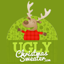 Ugly is Beautiful at Ugly Christmas Sweater. Youa ll find the perfect funny and original light up Ugly Christmas Sweaters for your next holiday party. For more information, contact uglychristmassweater@affiliatemanager.com.