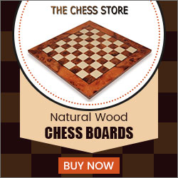 Natural Wood Chess Boards