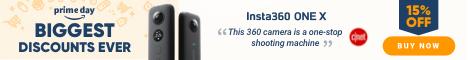 15% Off Insta360 ONE X Camera