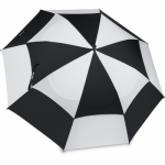 Bag Boy Manual Wind Vent Umbrella Black/White